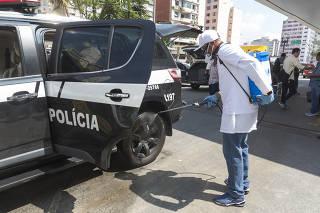 CORONAVIRUS - VIATURAS POLICIA