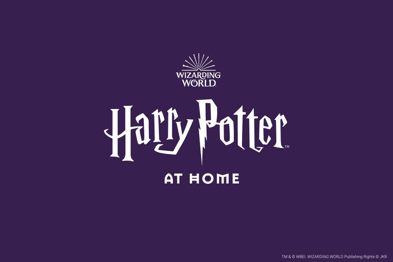 Logo do site Harry Potter at Home