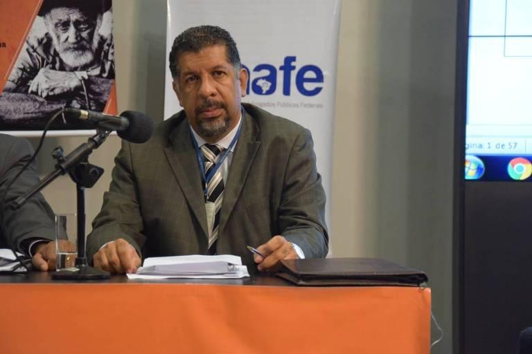 Petrus Elesbão - Presidente do Sindilegis (Sindicato dos Servidores do Poder Legislativo e do Tribunal de Contas da União)