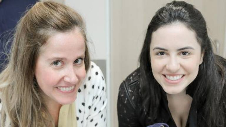 As empresárias Paula Baracat (à esq.) e Marcela Ascar Martins, donas do Estudio Matre