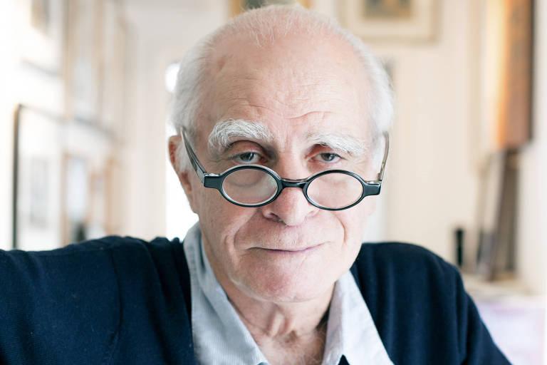 O escritor Ignácio de Loyola Brandão, 83