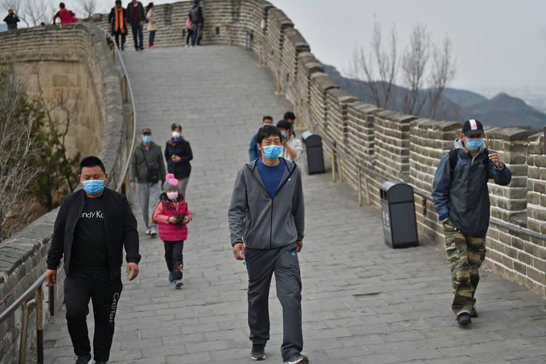 China começa a reabrir pontos turísticos