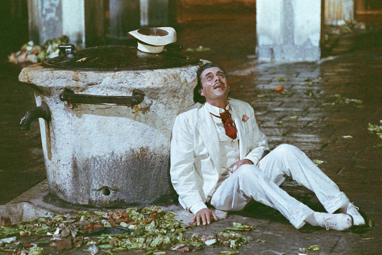 """Cena do filme """"Morte em Veneza"""", de Luchino Visconti, disponível no streaming do Belas Artes"""