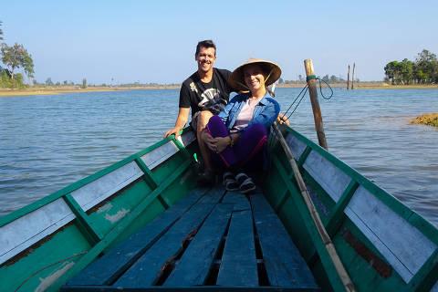 Rocío Quiroga e Wagner Adornetti (Camboja) - TURISMO - CORONAV�RUS