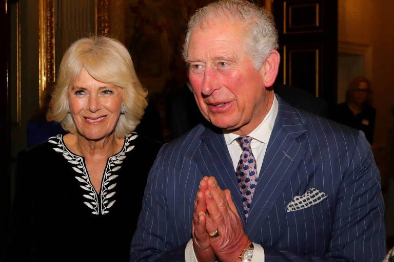Camilla e príncipe Charles