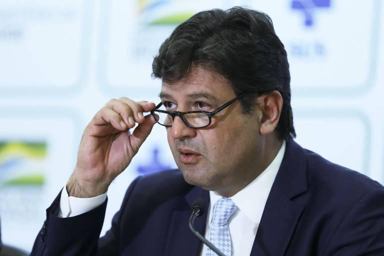 O ministro da Saúde, Luiz Henrique Mandetta, explica que as ligações automáticas serão para identificar novos casos de contágio do coronavírus