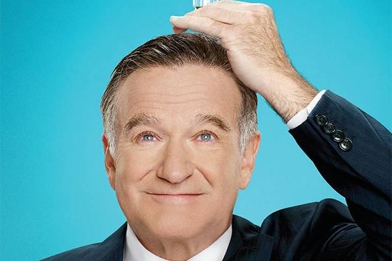 """Robin Williams, estreou o show """"The Crazy Ones"""" exibida pela CBS em 2013"""