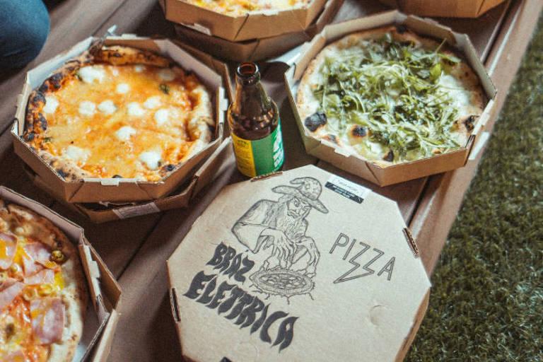 Delivery da pizzaria Bráz Elettrica