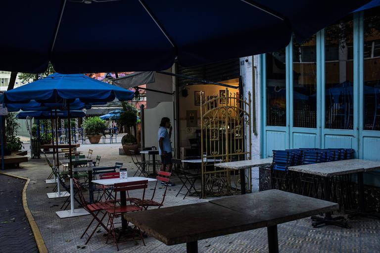 Restaurantes estão fechados há mais de 15 dias em São Paulo