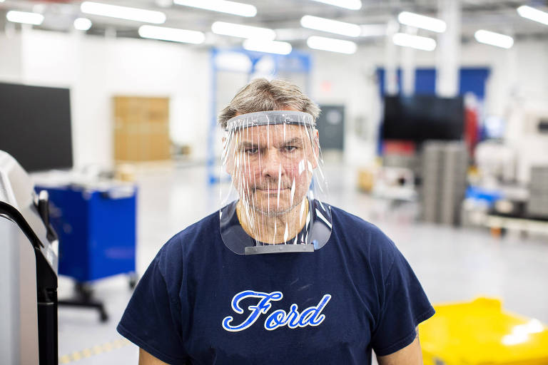 Ford e Mercedes fabricam equipamentos médicos contra o coronavírus