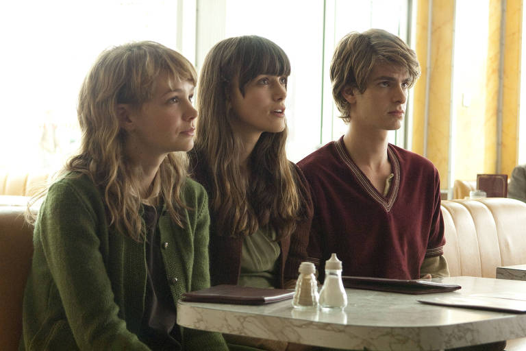 """Carey Mulligan, Keira Knightley e Andrew Garfield no filme """"Não Me Abandone Jamais"""""""