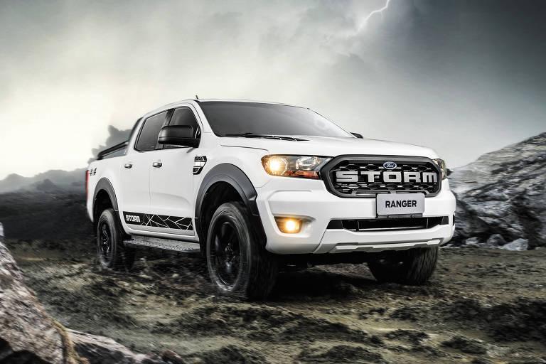 Ford lança versão Storm da Ranger