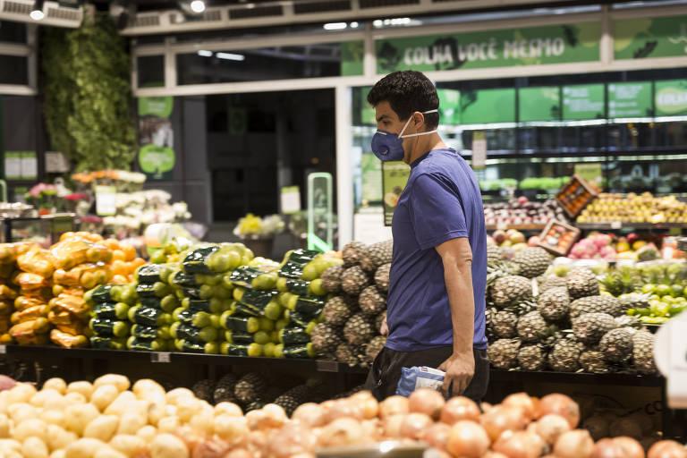 Ida ao supermercado requer cuidados especiais