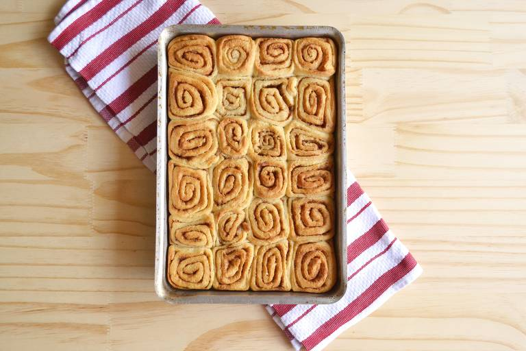 Aprenda a fazer Cinnamon Roll