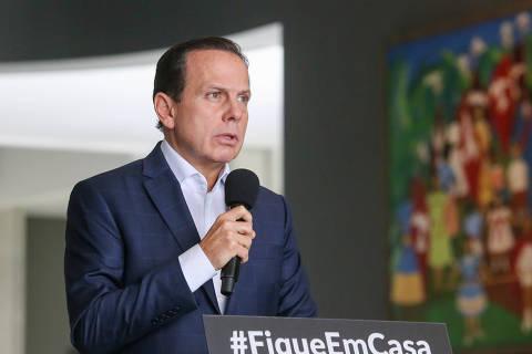 Maioria aprova pedido de Doria para ignorar recomendação de Bolsonaro, aponta Datafolha