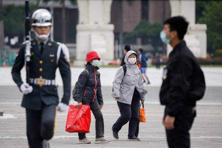 Pouco contato físico ajuda a entender números baixos da pandemia em Taiwan