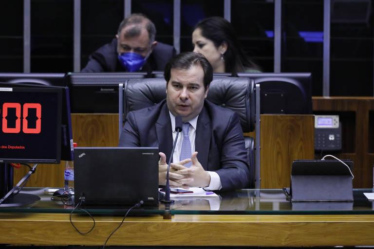 Presidente da Câmara dos Deputados, Rodrigo Maia (DEM - RJ); deputado foi o articulador da PEC
