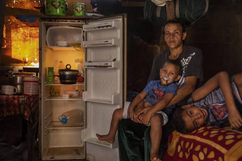 Quarentena em São Paulo reduz dieta de crianças na periferia a arroz