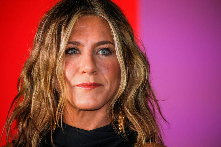"Jennifer Aniston no lançamento de ""The Morning Show"" em Nova York"