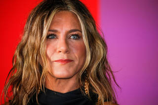 FILE PHOTO: Aniston arrives at the global premiere for