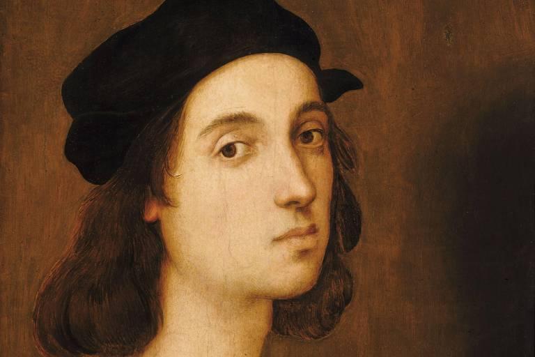 Autorretrato atribuído a Rafael, datado do começo do século 16