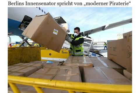 Da Alemanha à Bahia, revolta contra a 'pirataria moderna' dos EUA