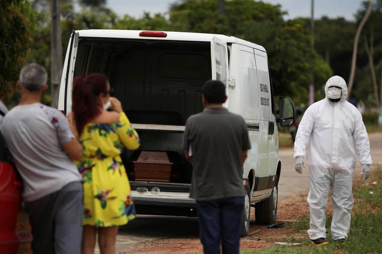 Morre uma senhora aos 72 anos, Ilda Lira de Coronavírus em Manaus