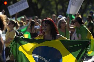 Protesto contra o isolamento