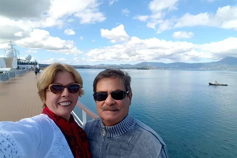 o aposentado Antonio Roberto Bião, 72, e a dona de casa Stela Vieira Bião, 57