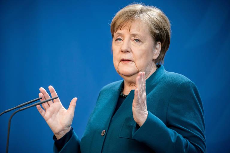 Merkel destaca importância da imprensa crítica em tempos de pandemia