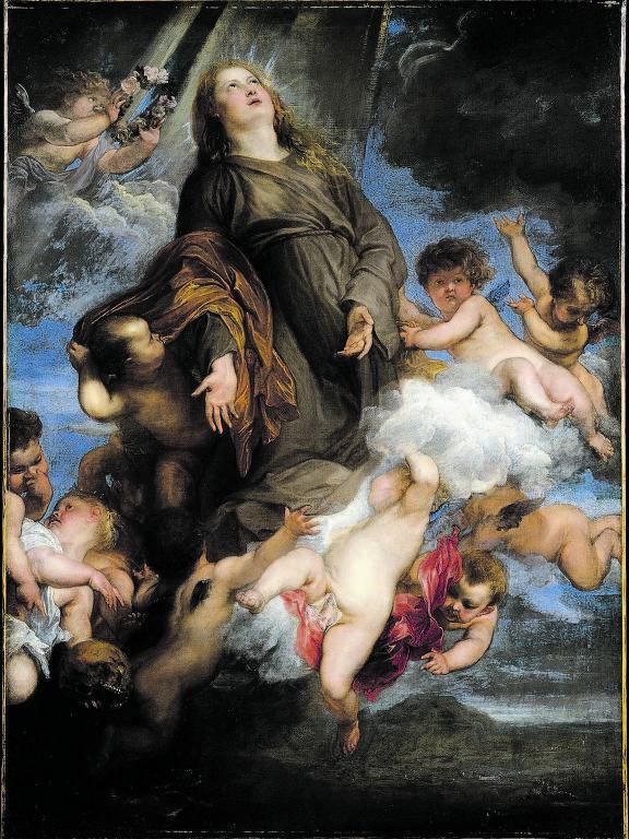 O quadro 'Santa Rosália Intercedendo pelas Vítimas da Praga de Palermo', de Anthony van Dyck, hoje no acervo do Met, em Nova York