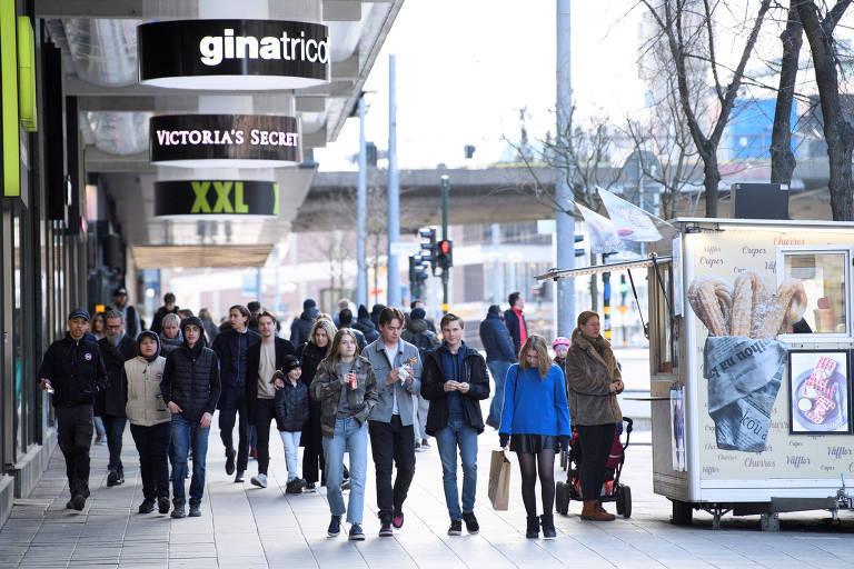 Críticas à Suécia por evitar lockdown mostram que esquerda abraçou autoritarismo