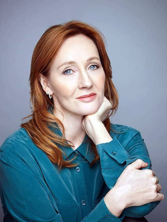 Imagens da escritora JK Rowling