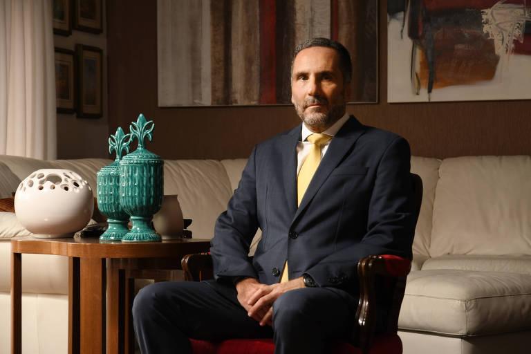 O procurador de Justiça Mario Luiz Sarrubbo, escolhido pelo governador João Doria (PSDB) para chefiar o Ministério Público de São Paulo