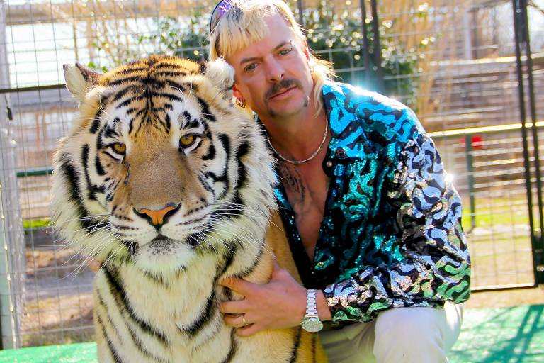 Joe Exotic inspirou série documental 'A Máfia dos Tigres'