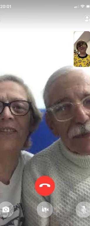 Avós sentem saudade dos netos em quarentena