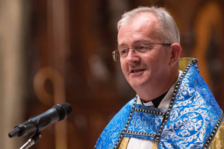 O reverendo Timothy Cole, da Christ Church Georgetown, primeiro caso confirmado de coronavírus na capital dos EUA