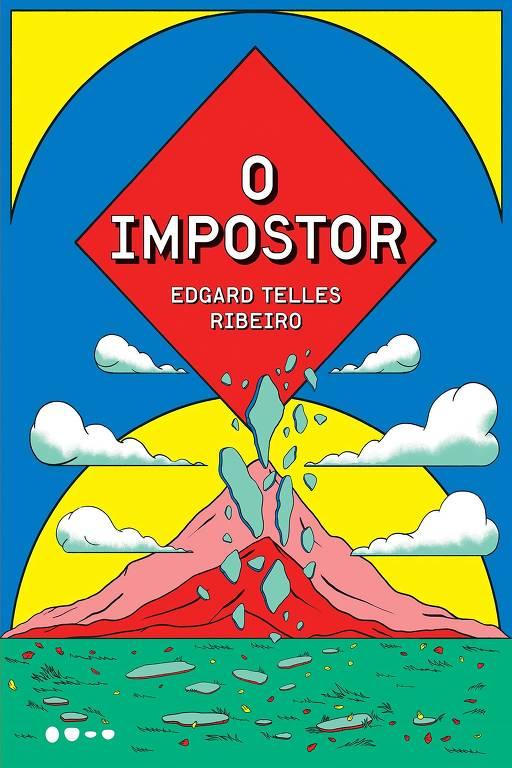 """Capa do livro """"O Impostor"""""""