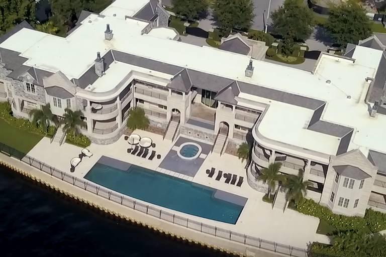 Nova mansão de Gisele Bündchen e Tom Brady, na Flórida