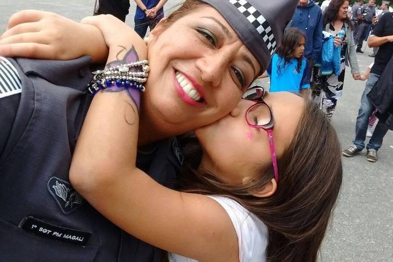 A policial Magali Garcia, que morreu no último dia 31