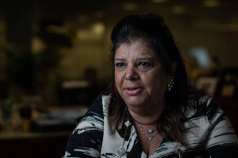 Luiza Helena Trajano, presidente do conselho de administração do Magazine Luiza