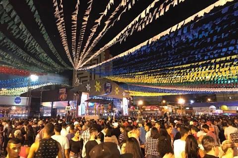 Festa São Joao 2018  Campina Grande. (Foto: No Facebook)  ** SAAO JOAO 2018**