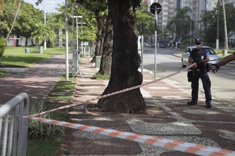 Cidades do litoral paulista vão barrar turistas no feriado de Páscoa