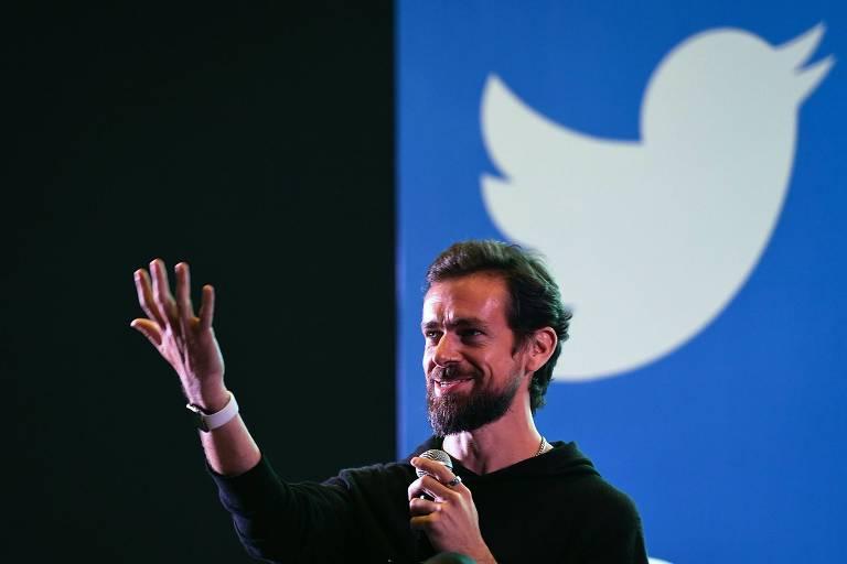 Jack Dorsey, cofundador do Twitter; empresa permitirá trabalho remoto pós-pandemia