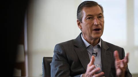 OSASCO, SP, 13.10.2019: Octavio de Lazari, presidente do Bradesco, em entrevista à Folha. O executivo assumiu o comando do banco em março de 2018. (Foto: VICTOR PAROLIN/Folhapress, MERCADO) ***EXCLUSIVO FOLHA***