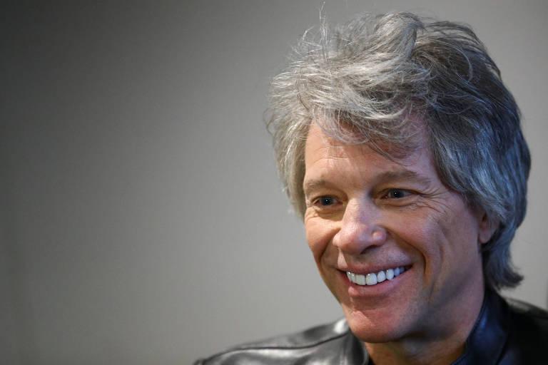 Jon Bon Jovi no Abbey Road Studios em Londres