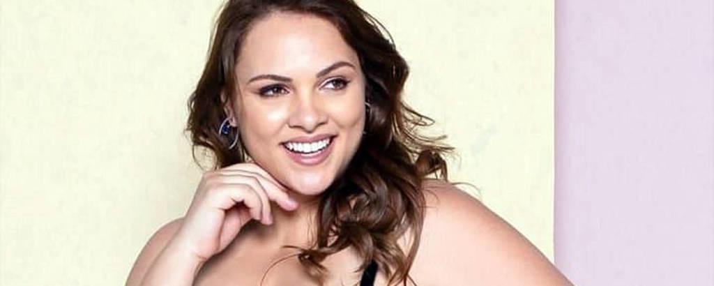 Jane Borges foi eleita Miss Brasil em 2006 e hoje trabalha como modelo plus size