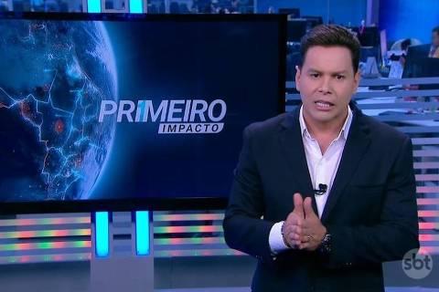 Marcão do Povo apresenta o programa Primeiro Impacto