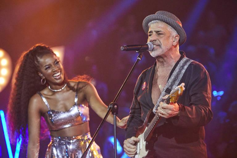 Iza recebe Lulu Santos no Música Boa