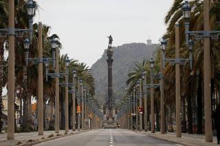 Outbreak of the coronavirus disease (COVID-19), in Barcelona